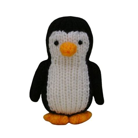 knitting pattern for penguin penguin by knitables craftsy