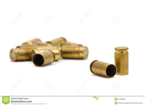 with used bullet casings bullet casings stock photo image 15384890