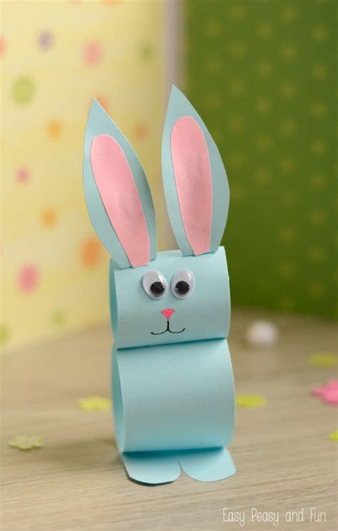 simple kid crafts paper bunny craft easy easter craft for easy