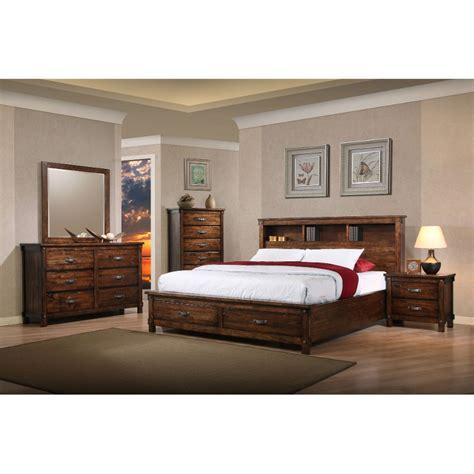 brown bedroom furniture sets rustic brown 6 bedroom set