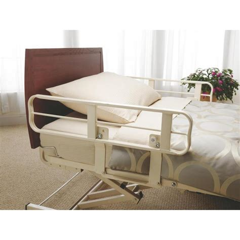 side bed rails for bed alterra bed side rails medline fce1232rsr