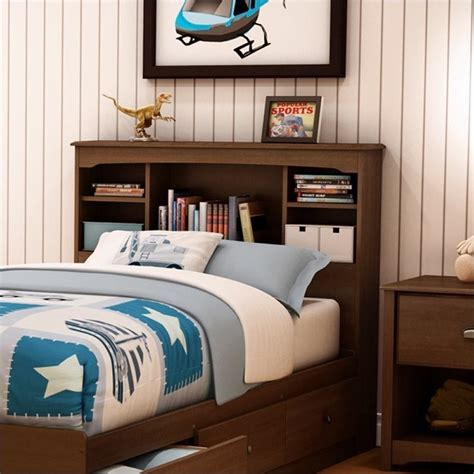 childrens bed with bookcase headboard kid s headboards house home