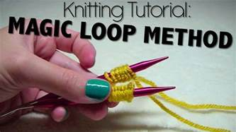 magic loop method of knitting knitting tutorial magic loop method