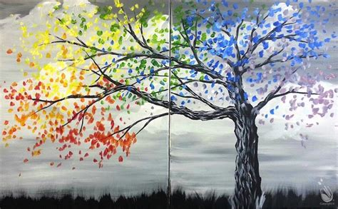 paint with a twist chesapeake va date happy tree couples friday july 7 2017