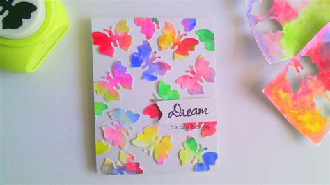 how to make simple greeting cards diy easy card for beginners and water