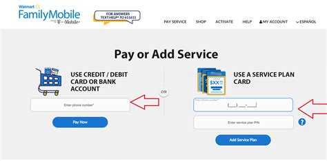 make payment walmart credit card www myfamilymobile walmart family mobile make a