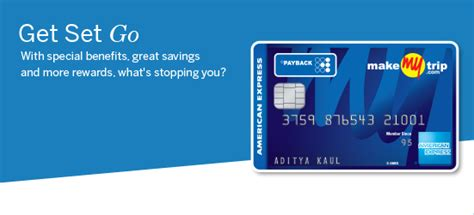 how to make american express card makemytrip card american express india