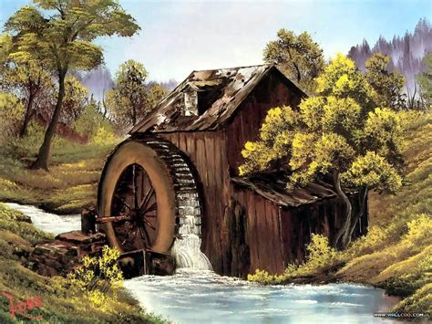 bob ross paintings buy mill painting by bob ross bob ross