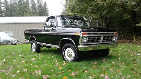 Ford Trucks by Is This Black 1974 Ford F 100 The Holy Grail Ford