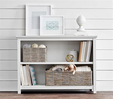 2 shelf bookshelves cameron 2 shelf bookcase pottery barn