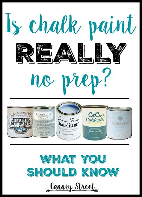 chalk paint no primer when to prep before chalk paint canary crafts