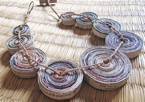 how to make jewelry with paper paper jewelry by devi chand
