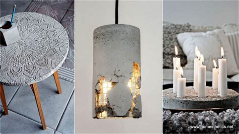 concrete craft projects 15 diy concrete ideas for a chic minimal design
