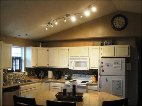 ceiling track lights for kitchen 4 best ideas to create kitchen track lighting