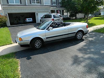 how does cars work 1995 audi cabriolet auto manual 1995 audi cabriolet cars for sale