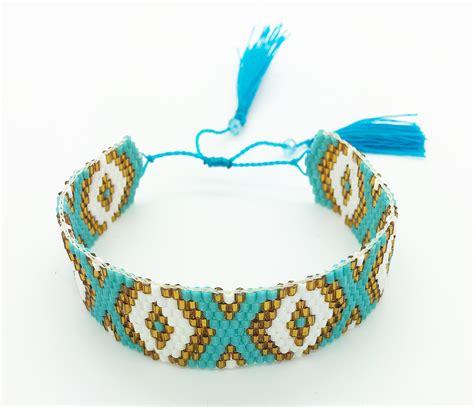 beaded turquoise bracelet turquoise beaded detailed bracelet always by