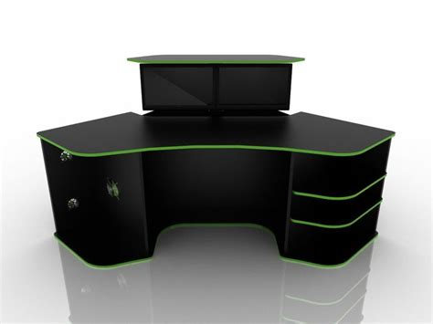 roccaforte ultimate gaming desk 1000 ideas about gaming desk on pc setup