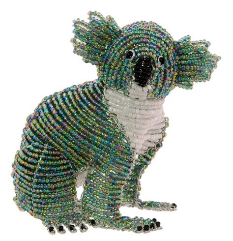 bead and wire animals wow imports beaded wire animal figurine koala