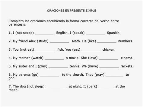 preguntas en presente simple con verbos irregulares escribe f 225 cil en ingl 233 s ejercicios propuestos presente simple