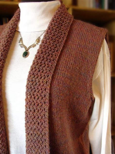 knitted vest patterns free treyi vest by jean clement knitting pattern