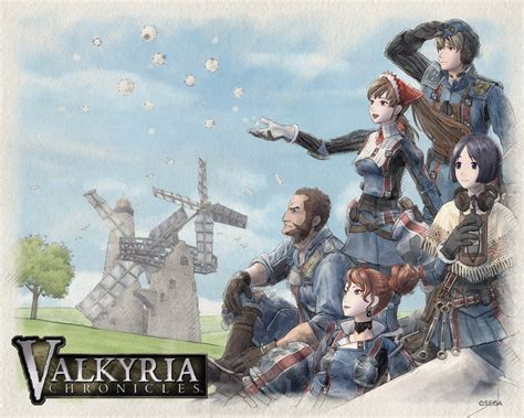 valkyria chronicles new sega teaser more than likely a new valkyria chronicles