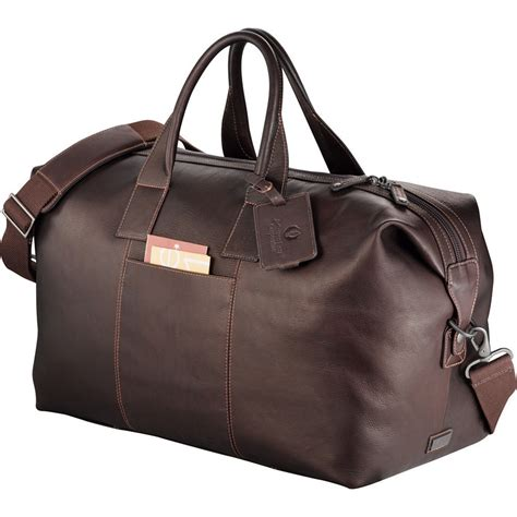 kenneth cole leather bag promotional kenneth cole leather weekender duffel bag customized kenneth cole