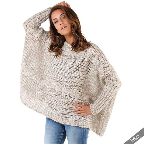 oversized knit pullover womens shiny chunky knit oversized boyfriend slouchy