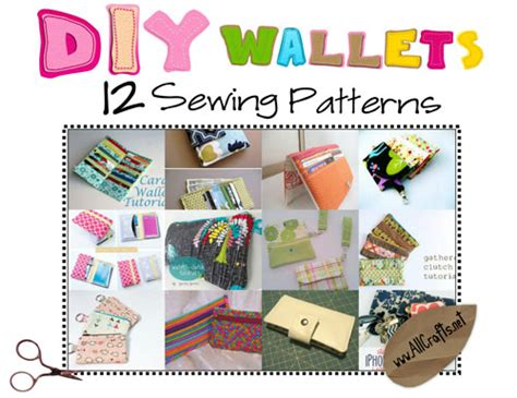 free craft for diy wallets 12 sewing patterns allcrafts free crafts