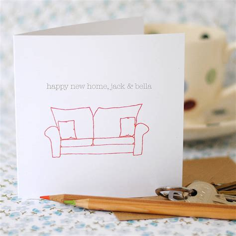 card uk happy new home card the green gables