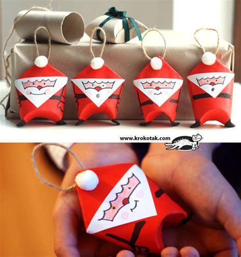 toilet paper santa craft krokotak toilet paper roll santa