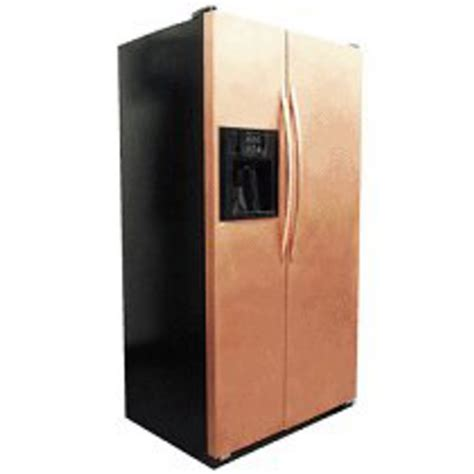 copper colored appliances copper appliance frame panel set by stainless crafts