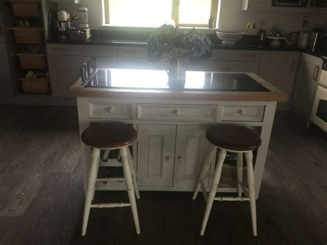 kitchen island table with 4 chairs kitchen island with four bramley stools for sale in drogheda louth from margaretsings