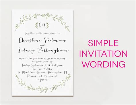 invitation card ideas wedding invitation wording ideas theruntime
