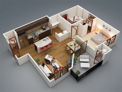 one bedroom house designs plans 1 bedroom apartment house plans