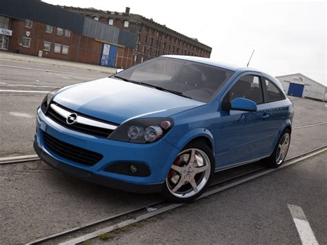 Opel Astra 2005 by Opel Astra 2005 3d Model Max Obj 3ds Cgtrader