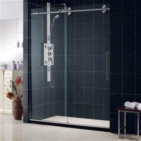 home depot shower doors sliding dreamline enigma 56 in to 60 in x 79 in frameless