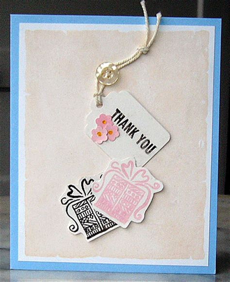 make a baby shower card baby shower thank you notecard