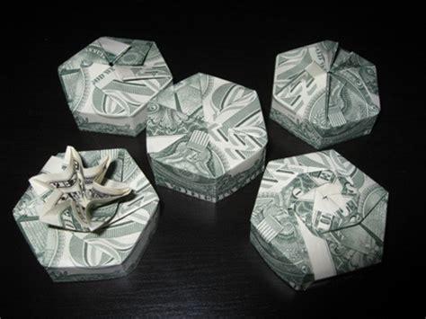 origami money box money origami hexagon box gifts