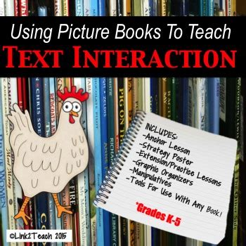 using picture books to teach comprehension strategies link 2 teach teaching resources teachers pay teachers