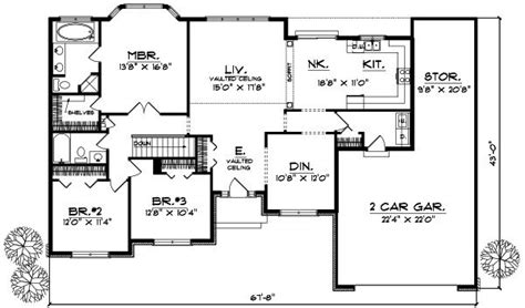 2 bedroom ranch house plans best of 2 bedroom ranch style house plans new home plans design