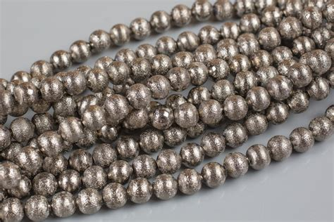 10mm bead actual size brushed gunmetal copper all sizes 8 inch strand