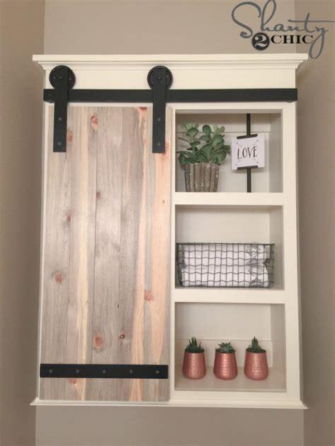 Sliding Door Bathroom Cabinet White by 31 Brilliant Diy Decor Ideas For Your Bathroom