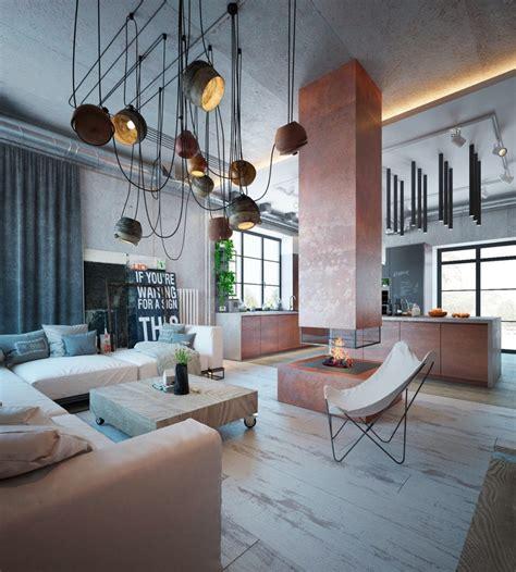 home interior architecture industrial interior design ideas