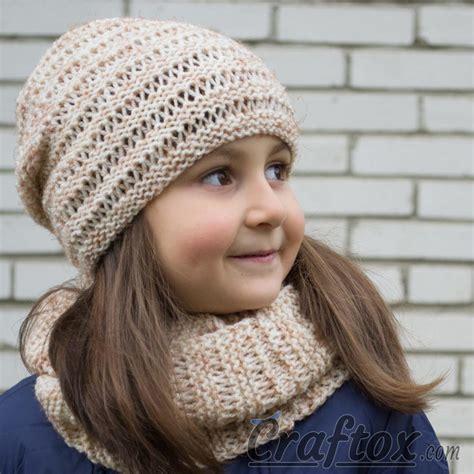 all free knitting cowls kari knit hat and cowl set allfreeknitting