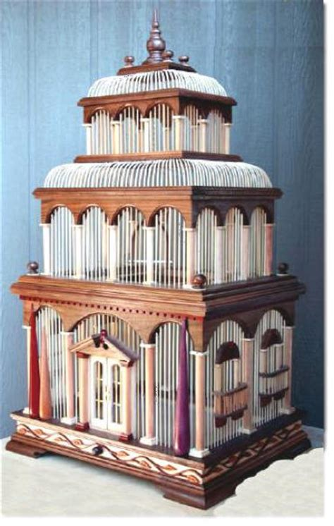 bird cage plans woodworking 04 fs 146 venice bird cage woodworking pattern