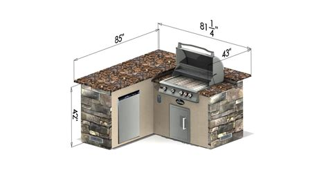 Portable Kitchen Island With Seating select series backstretch outdoor kitchen island
