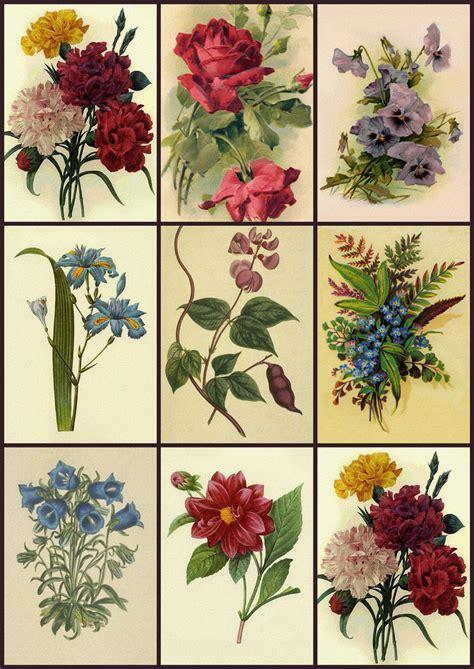 decoupage prints artbyjean vintage clip digital collage sheet