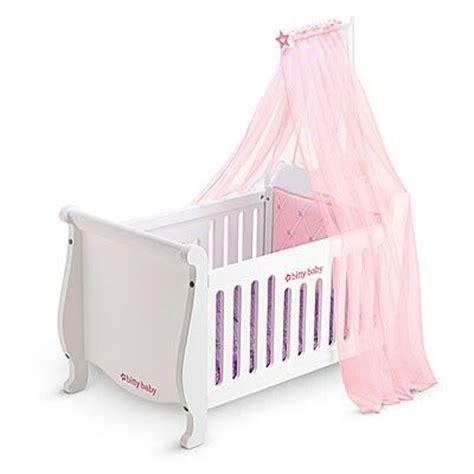 bitty baby crib bitty baby s new crib marlee