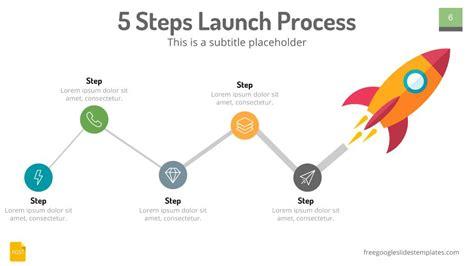 rocket launch design google slides free google slides