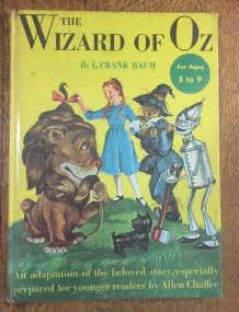 wizard of oz picture book vintage 1950 hardcover wizard of oz picture book by l